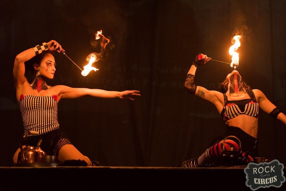 Danseuses de feu paris