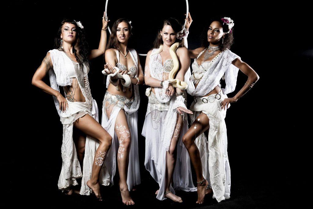 danseuses costume blanc