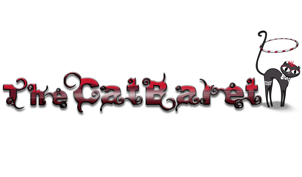 The Cat'baret - logo by Jeff Design