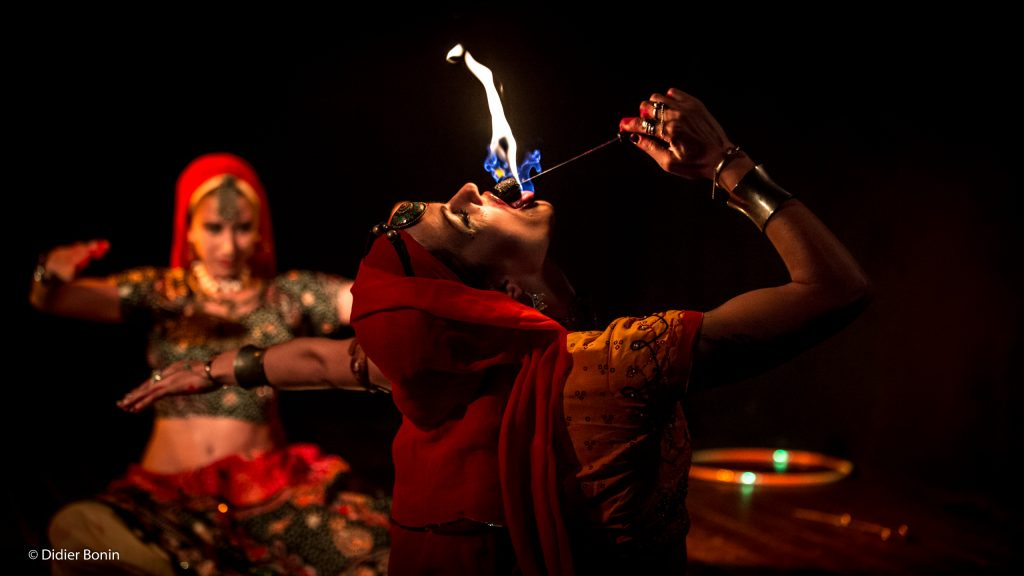 indian fusion fire show