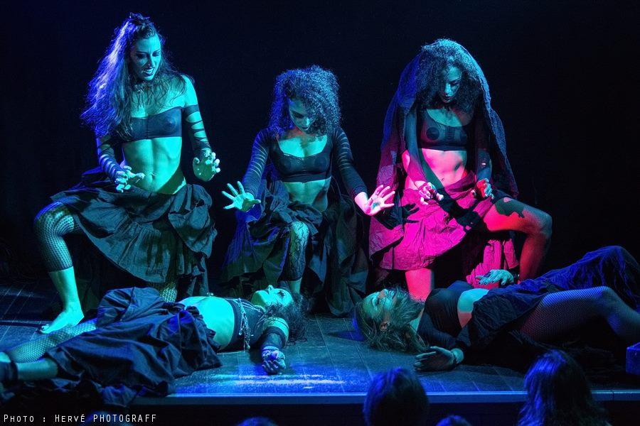 Danseuses Paris Cabaret par Hervé photographe