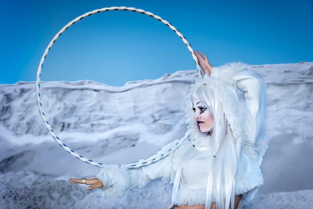 parade lumineuse hula hoop